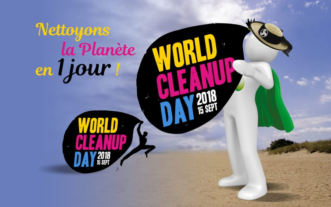 Save the Date : CleanUp Day le 15 septembre 2018