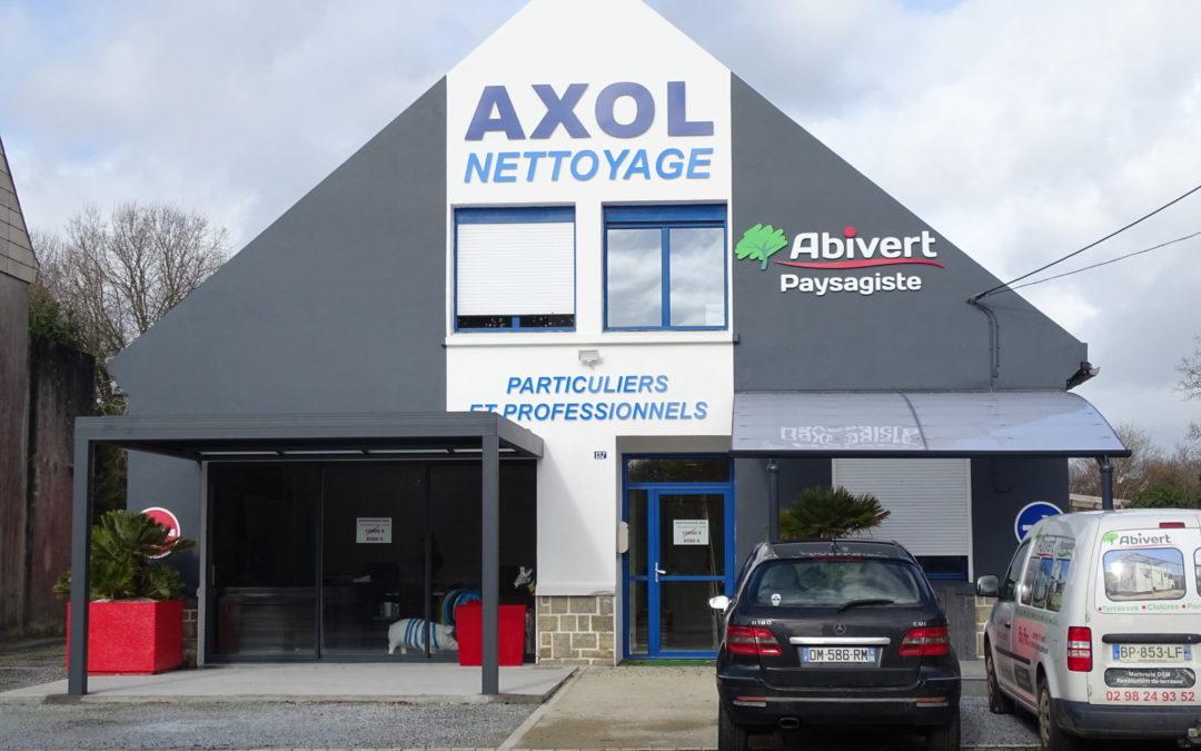 Arrivée d'Axol Nettoyage le 1er janvier 2019